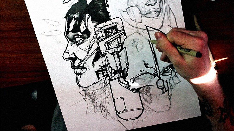 Sketch Process – Q2