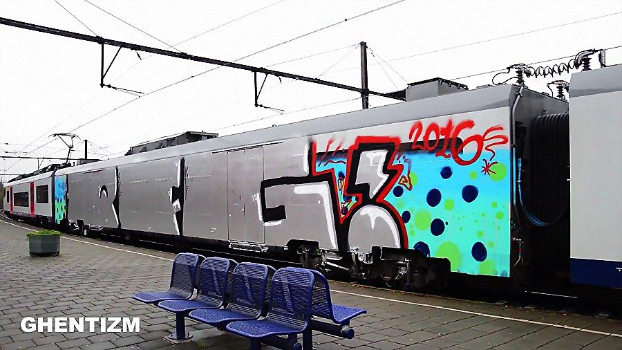 Trainspotting Ghent-Belgium: Апрель 2016