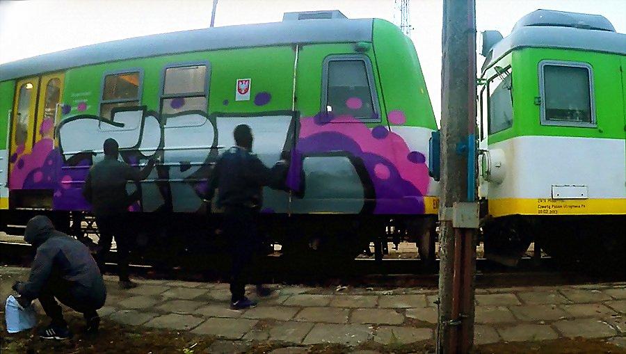 Тизер – Train In Paint