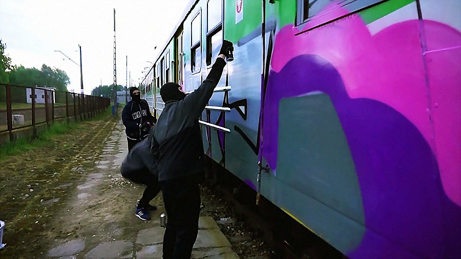 Train in Paint vol.1
