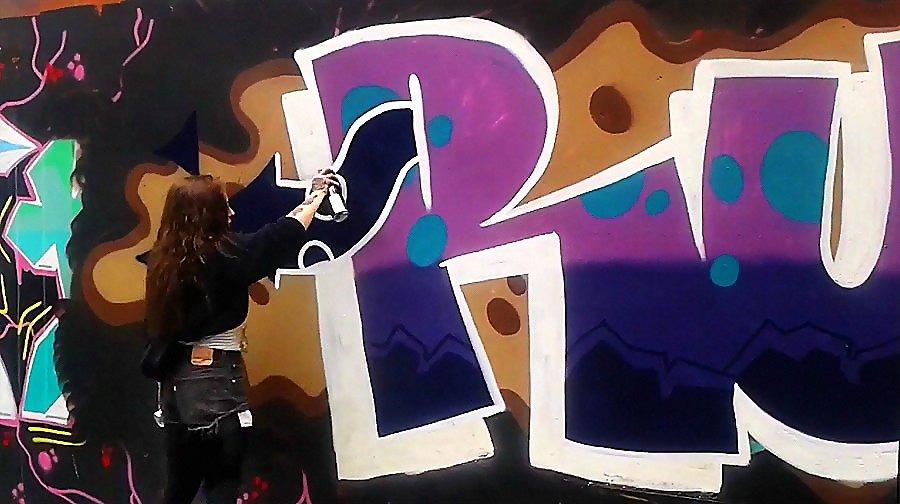 RUBY DUBLIN GRAFFITI