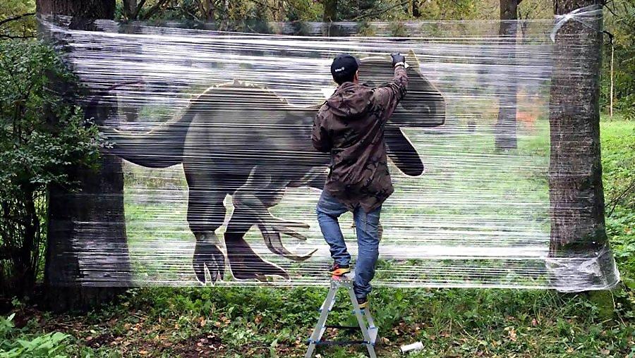 Evgeny Ches | Cellograffiti | 2016