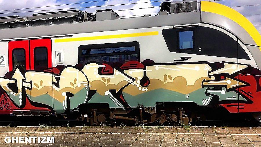 Trainspotting Ghent-Belgium: Сентябрь 2016