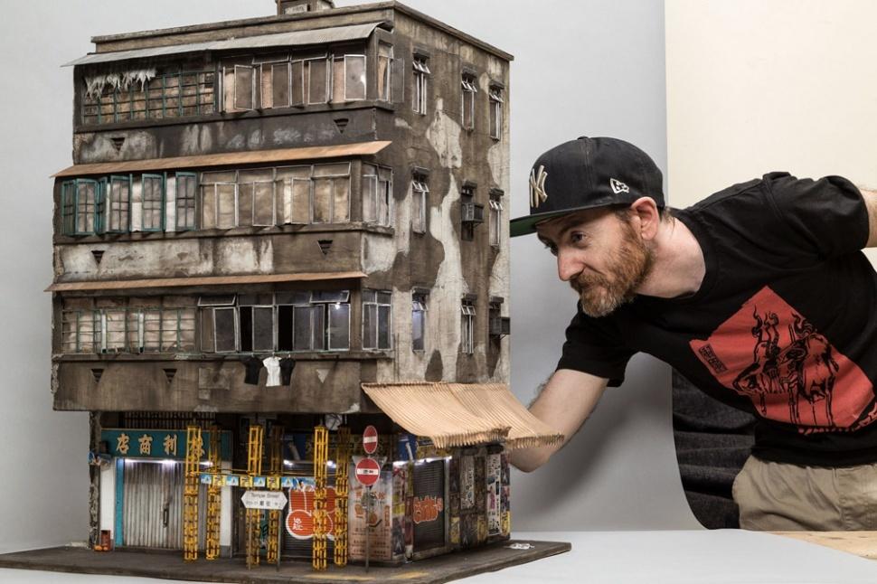 Joshua Smith – миниатюрные города художника