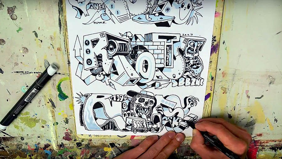 Sketchin' with – RIOT 1394
