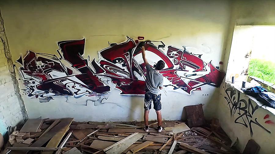 SKARE – Graffiti in abandoned place