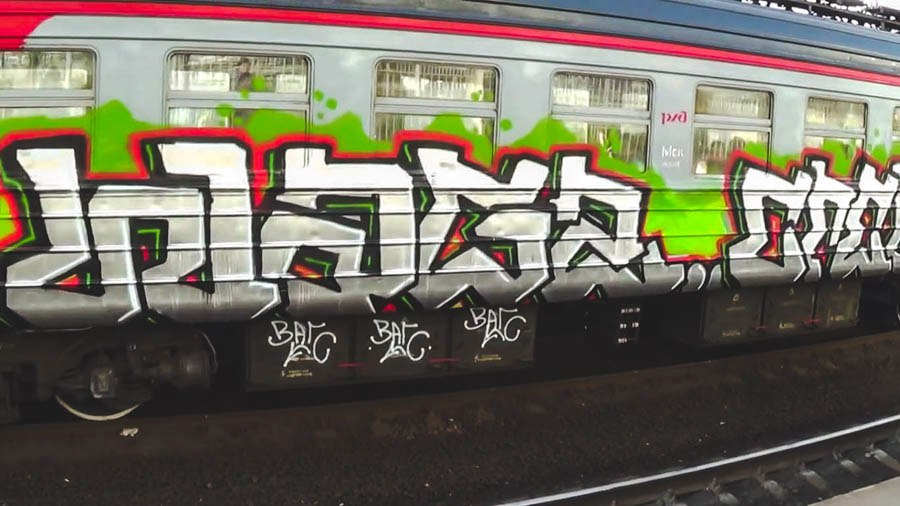 WAGS CREW – Trainbombing in Moscow
