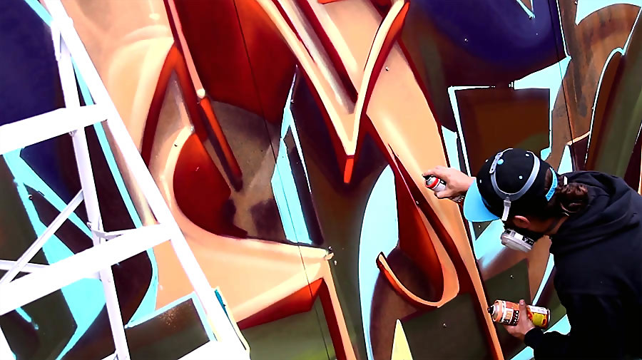 Graffiti Session: MONK-E