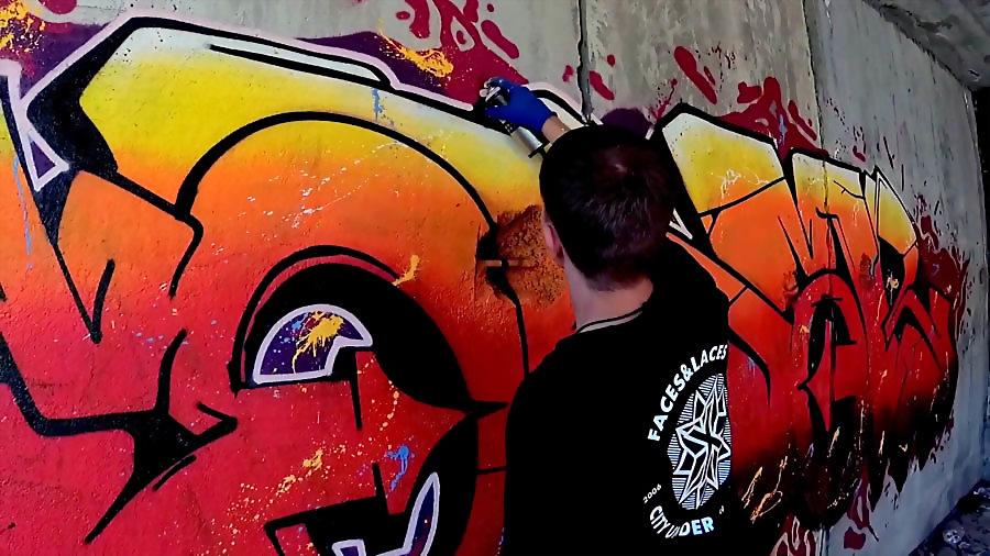 SONAR | Graffiti in abandoned place
