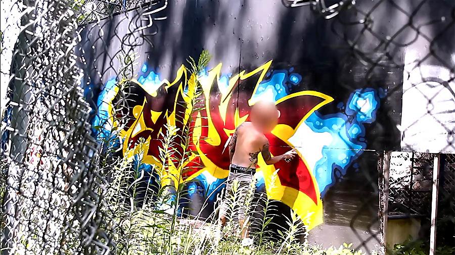 Graffiti Session: TUNA SIK