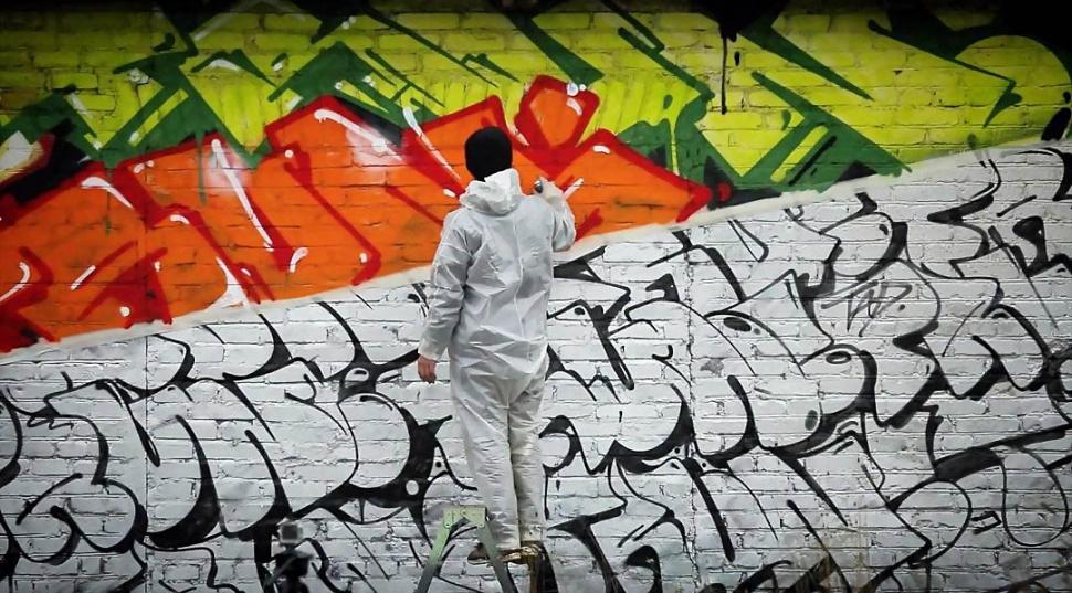 Russian Graffiti Holidays
