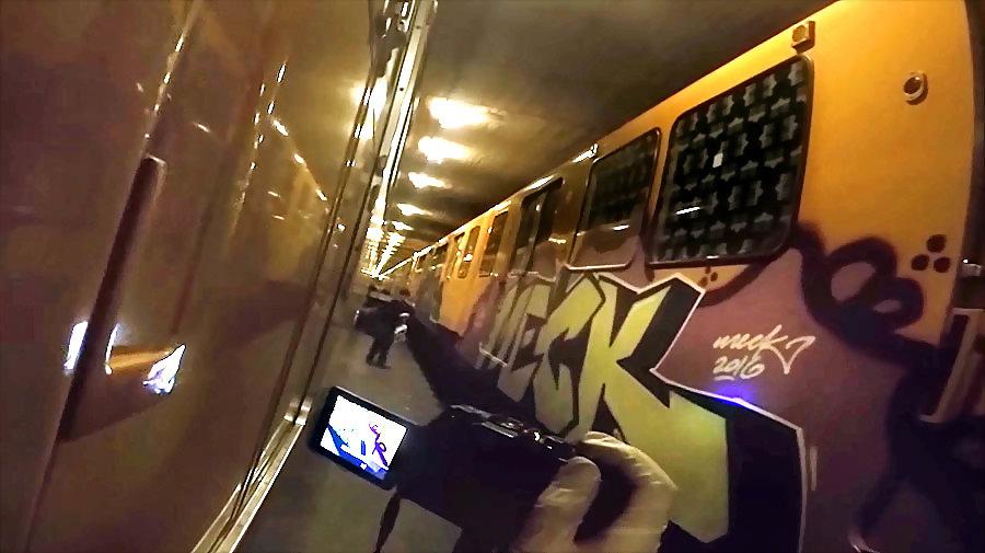 Meck   U-bahn Graffiti Berlin