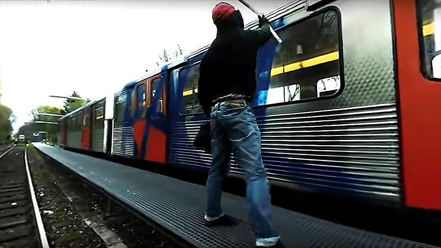 RAGE DSF | 360º Graffiti Video