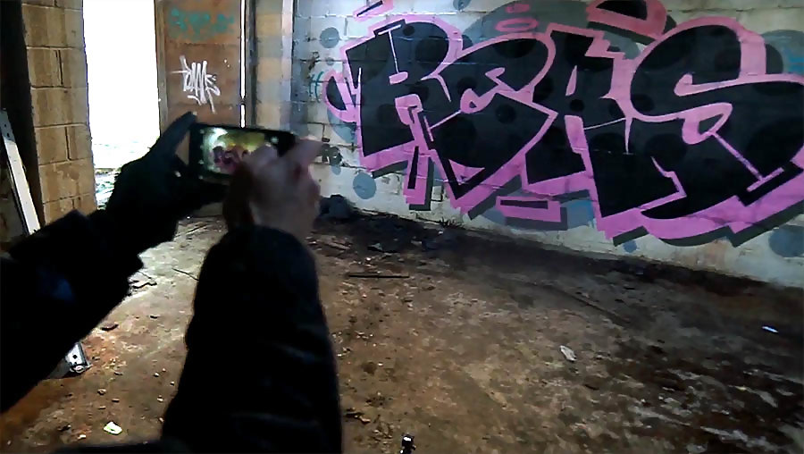 Reks DPS | Painting abandoned factory