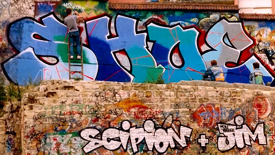 THE RISE OF GRAFFITI WRITING – FROM NEW YORK TO EUROPE | EP.07-08