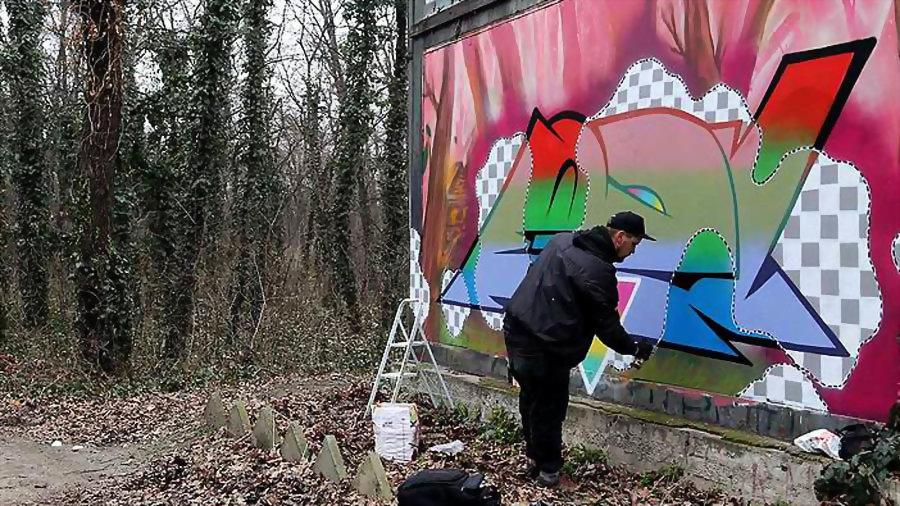 Graffiti for FORK4