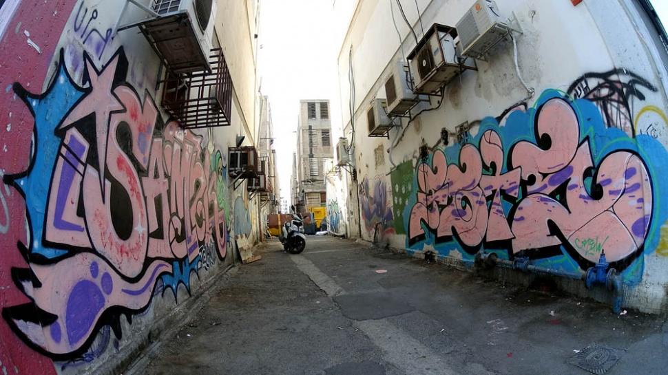 Graffiti from SAMEK