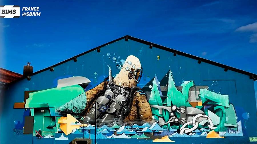 Graffiti sketchbook online: №4