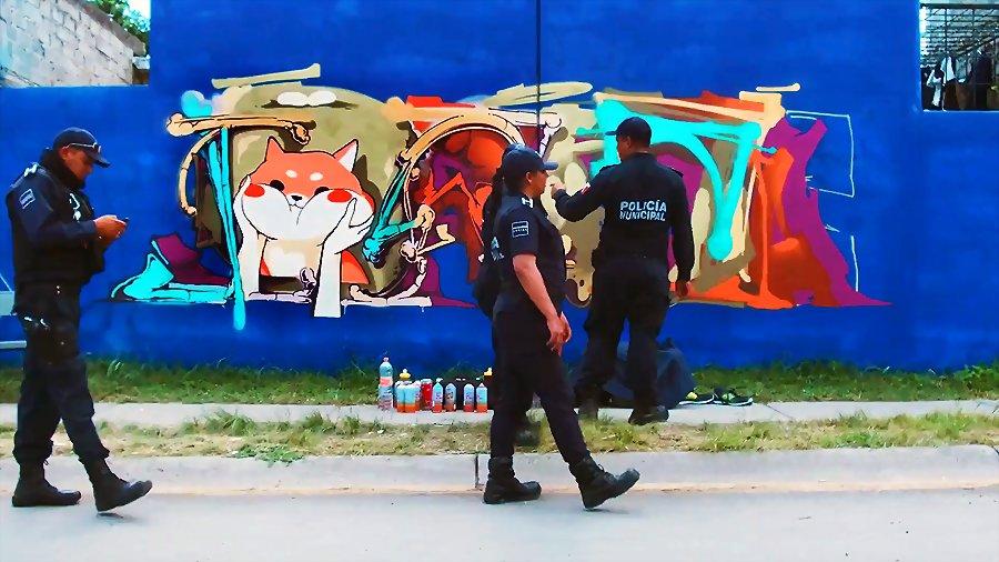 GRAFFITI | DEBZA in Mexico