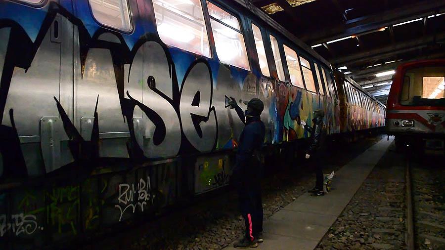Mser X Drips: Bucharest Subway Action