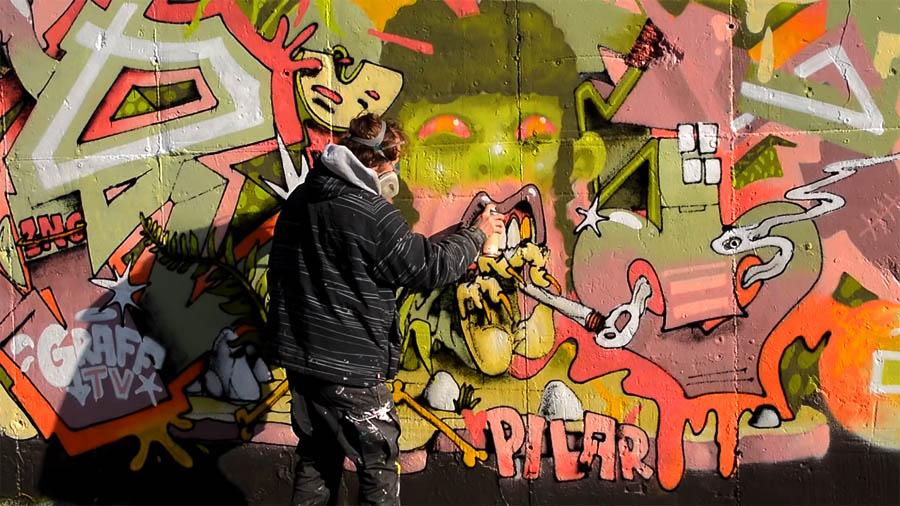 GRAFF TV: RIOT1394