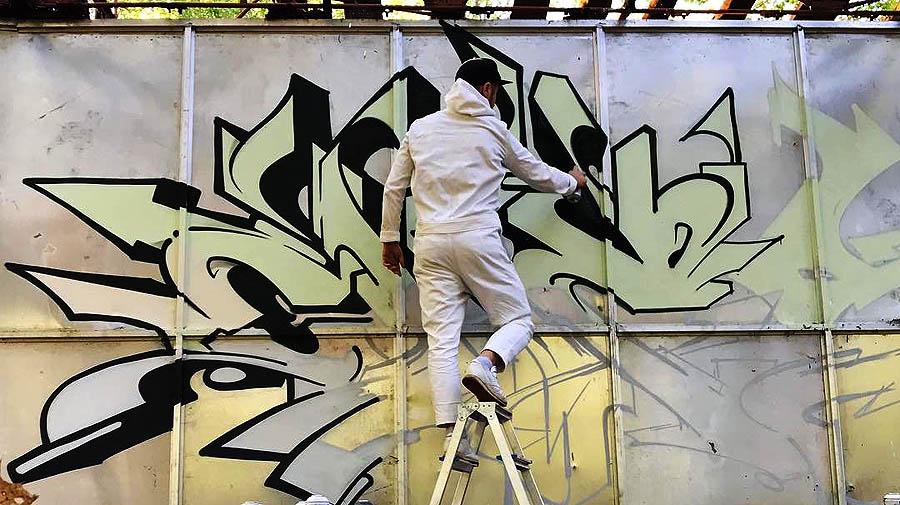 Ches | Graffiti at abandoned area