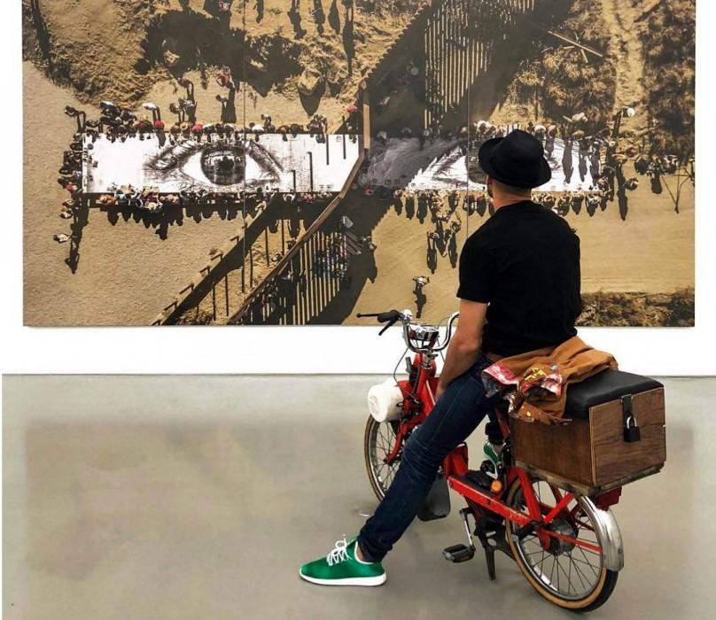 Выставка JR   HORIZONTAL в Нью-Йорке