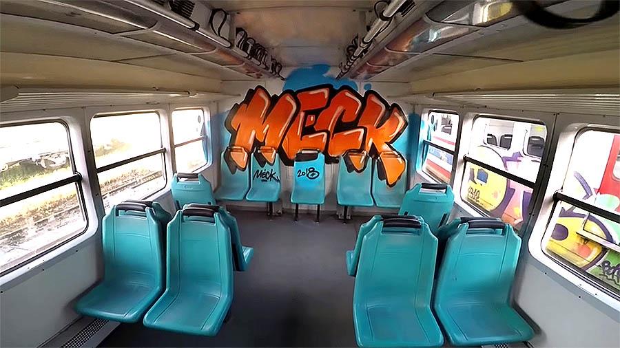 MECK – S-Train Inside Graffiti Istanbul