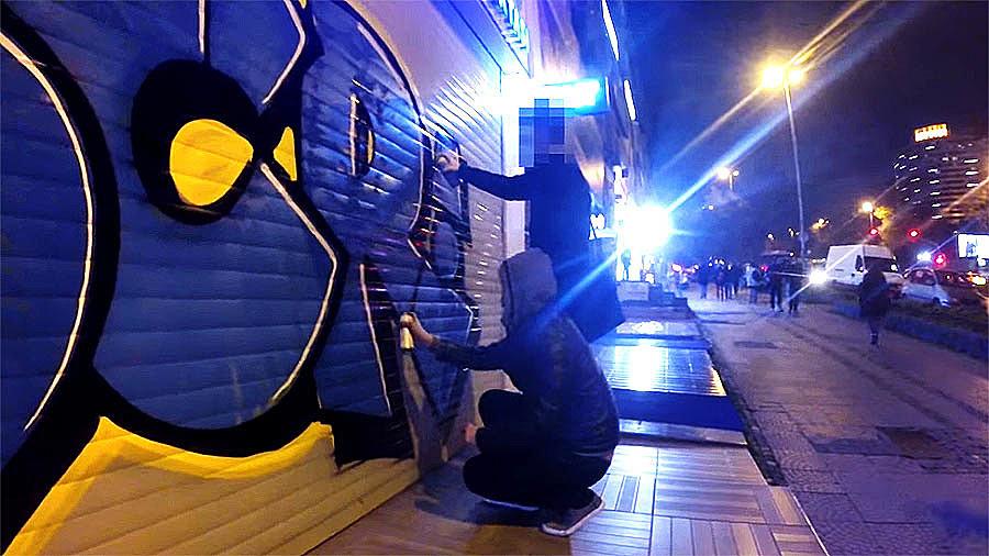 SCR – Graffiti night