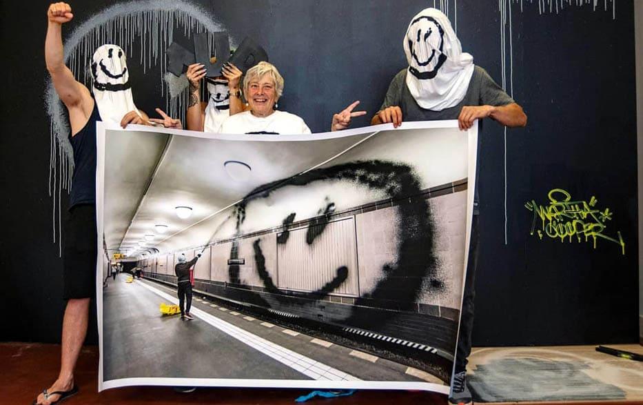 Выставка Primal Scream в Париже
