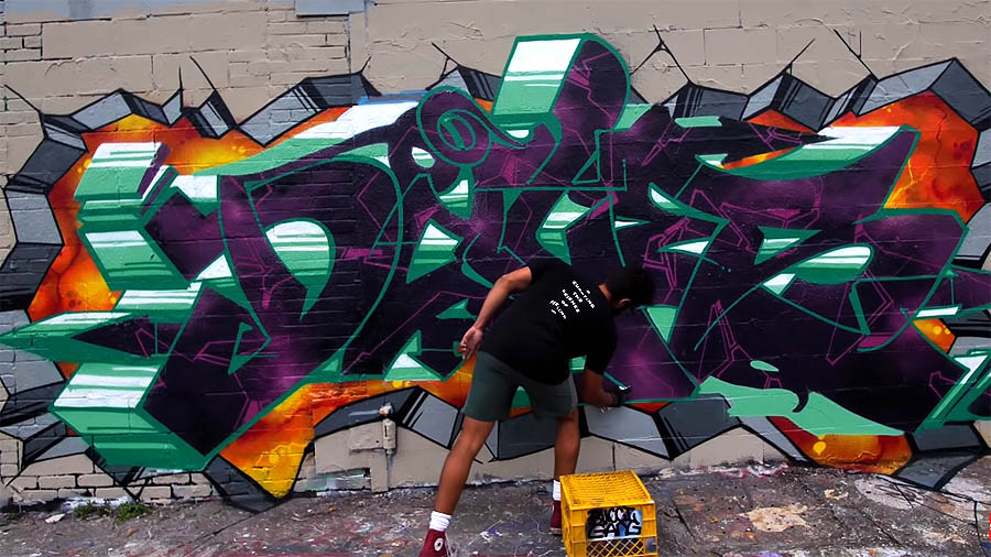 Graffiti Session: DALES