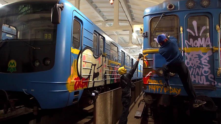 TSK Crew X DRIPS: Kiev Subway Action
