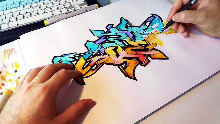 Graffiti Sketch #1 | Ches