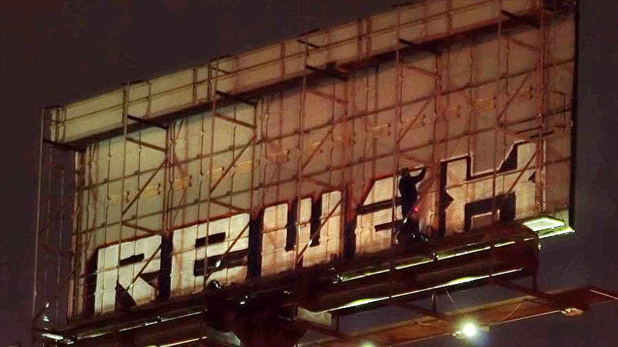 Philly Graff: Billboards, Extinguishers, and Ladders