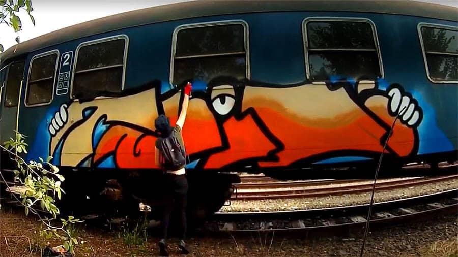 Take It Easy Graffiti #2