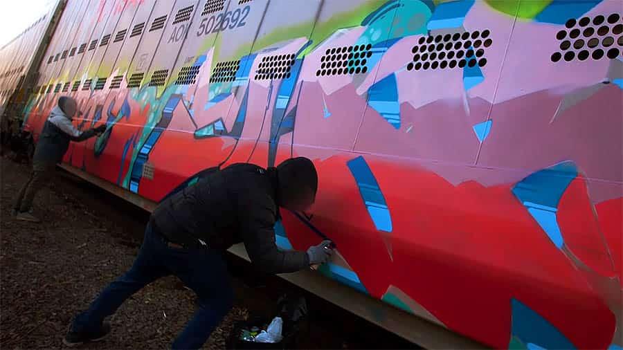 Graffiti Session: JOHSTE & JAKER