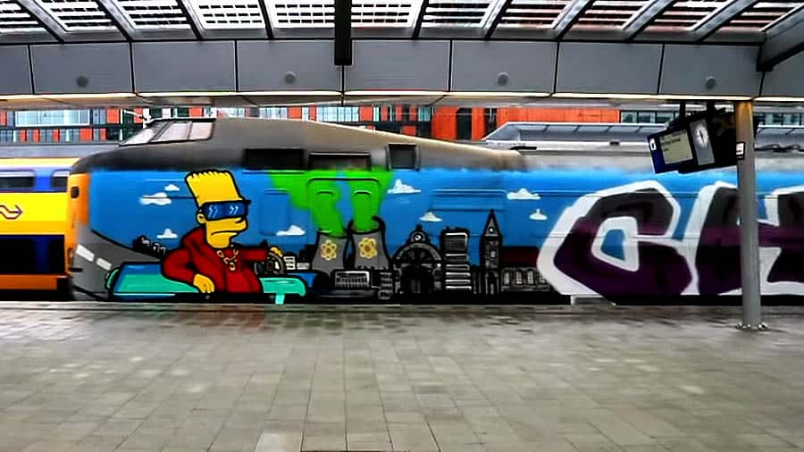 Dutch Trainspotting by Nachtfront 1 | 2018