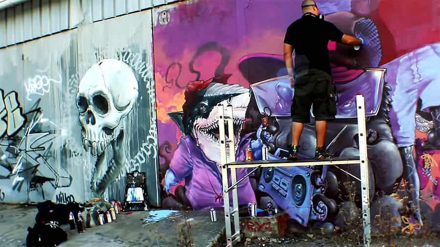 Graffiti Session: Nilko Loveletters