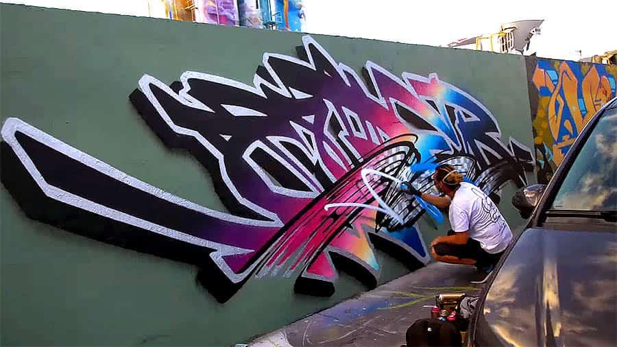 Graffiti Session: Voyder