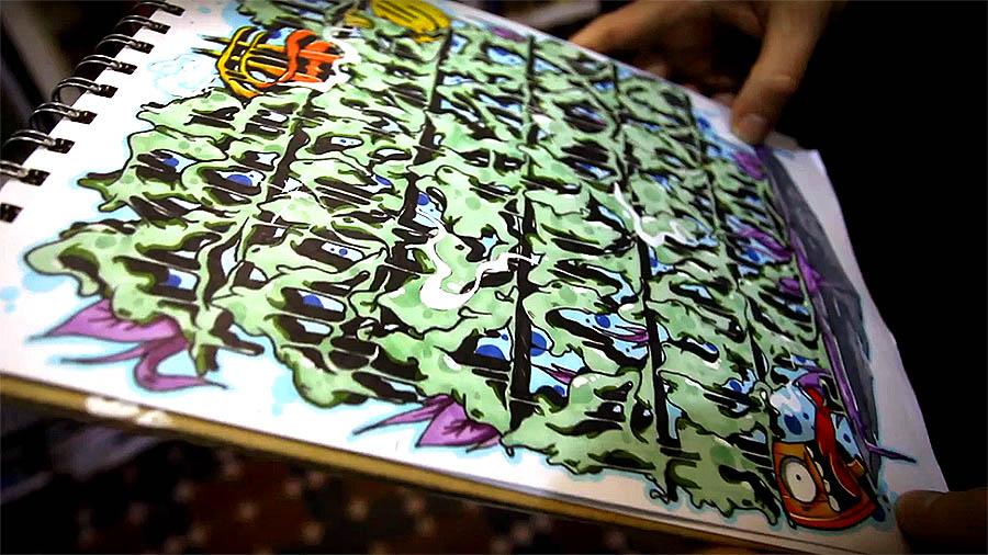 Demos sketchbook story