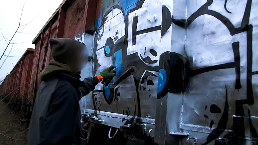 Freight Train Writing With Nesk