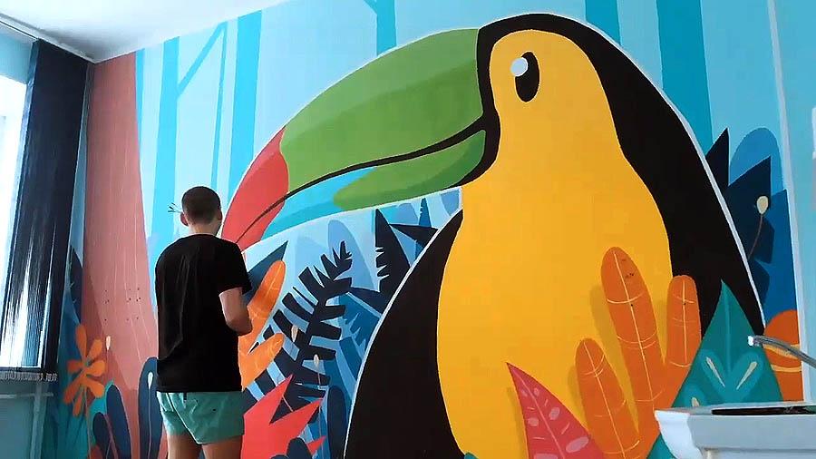 Стенограффия-2018 в Омске: Искусство добрых стен