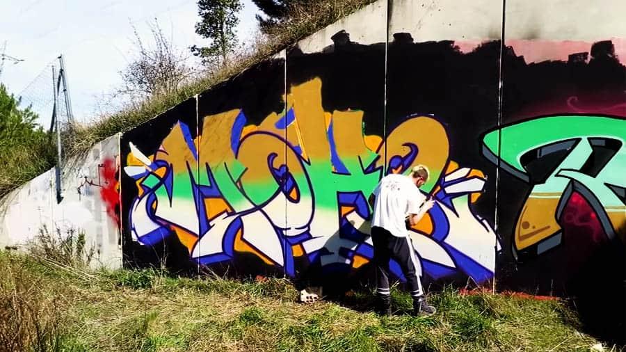 Domingozo 1.0 – Graffiti en Iruña