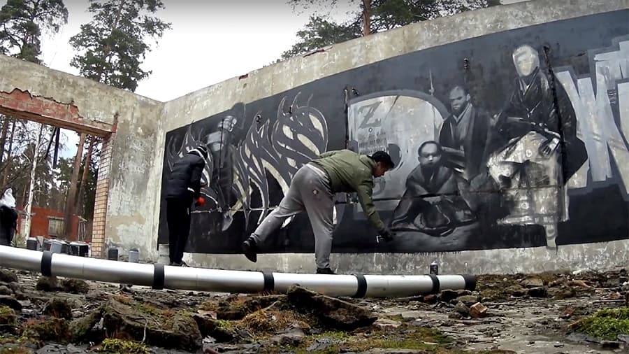 ZWS: Samurai graffiti | JEM & FOUS