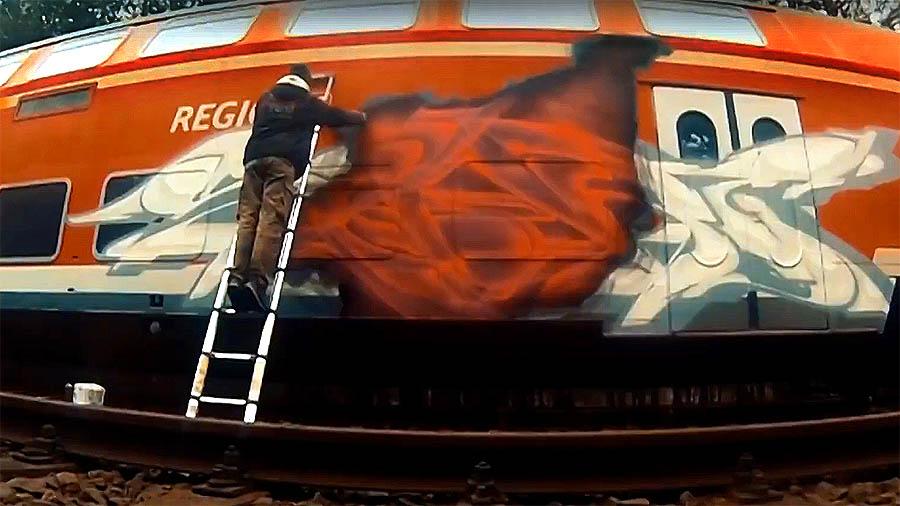 BEST TRAIN GRAFFITI – SPOARE