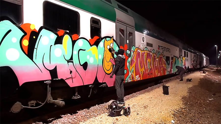 IN THE HALL OF THE TRAIN KING | TSK & FYL IN ITALY