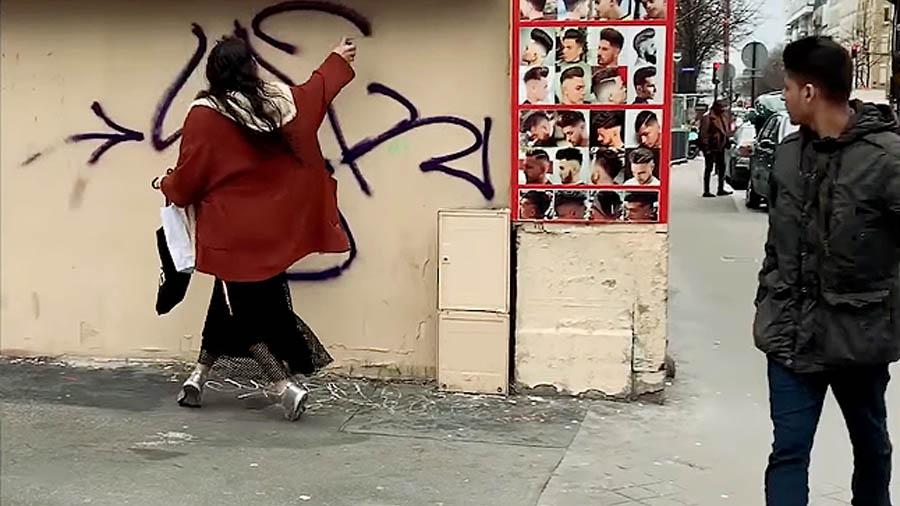Paris Graffiti: A LADY K – Film