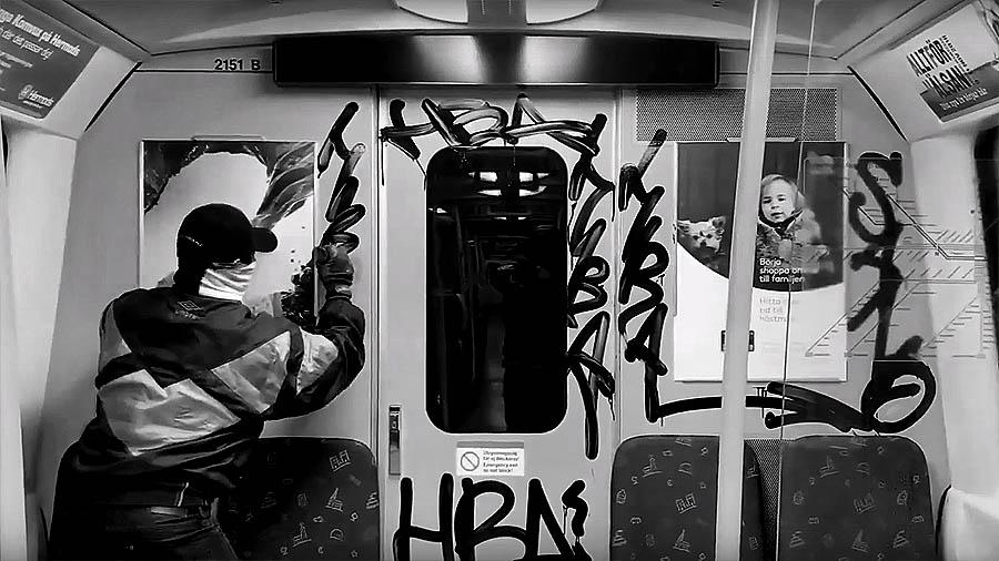 Bombing With Sano | Graffiti documentary