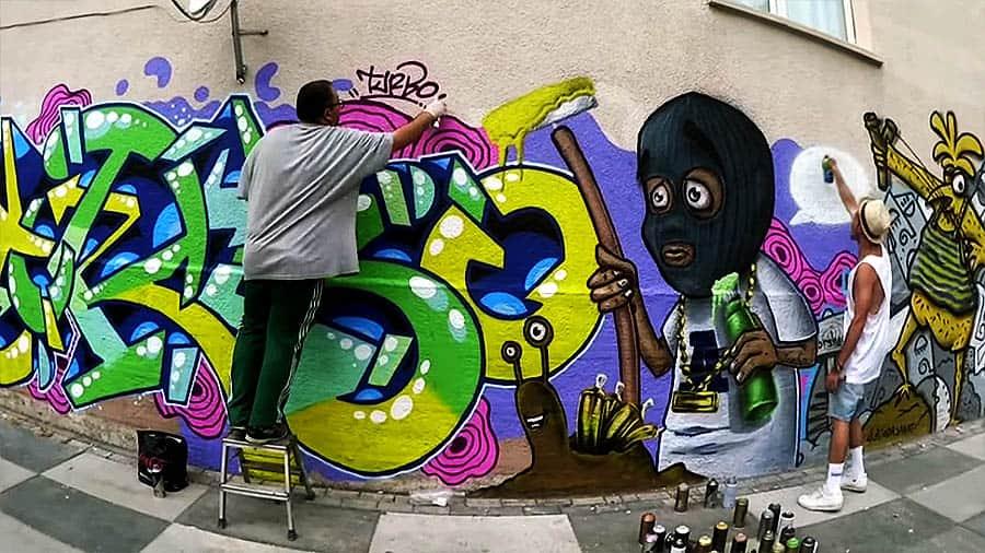 TURBO & ATIONE – Ankara Graffiti