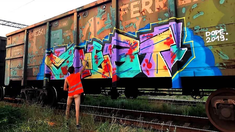 ONEBT Sex graffiti | Odessa city